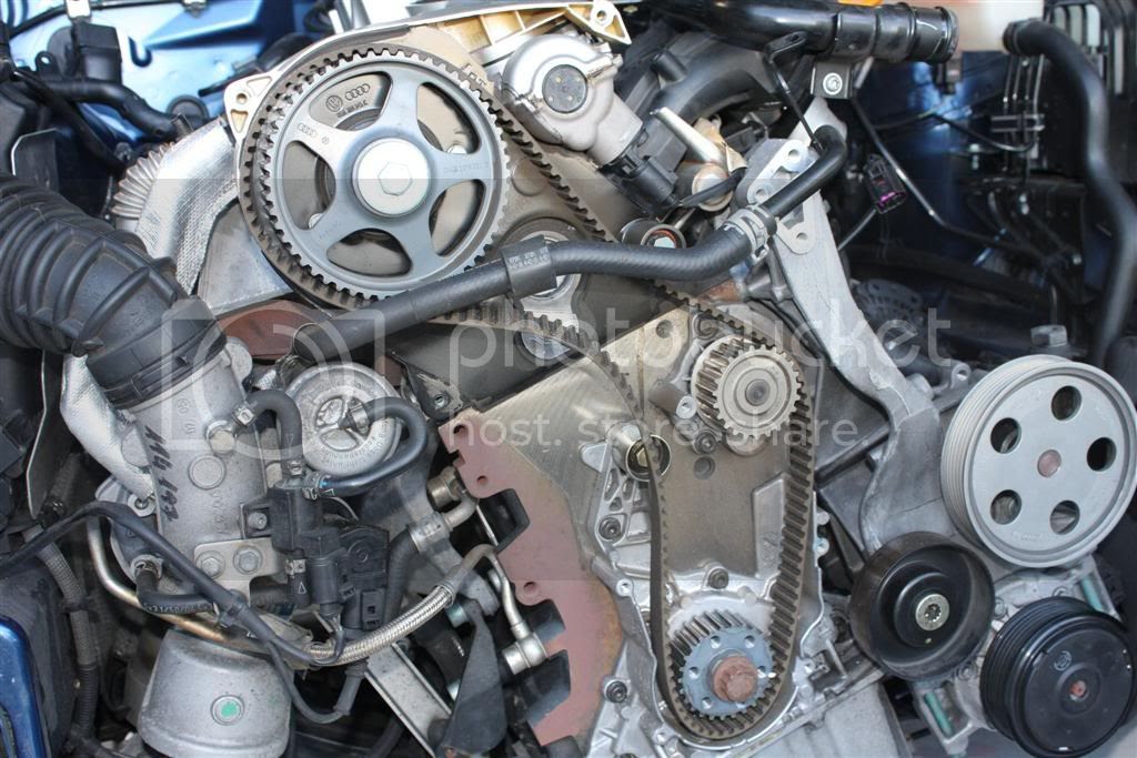 2011 Audi A4 Timing Chain Marks