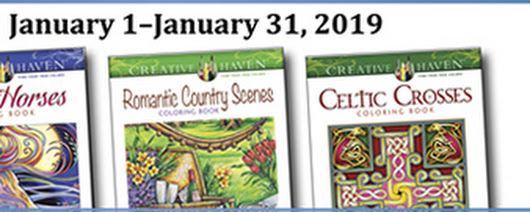 Creative Haven Coloring Giveaway