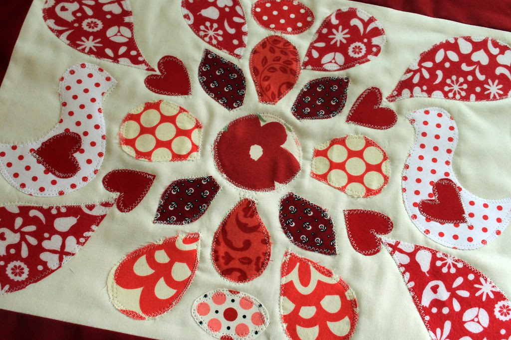 Ruby Quilt Block