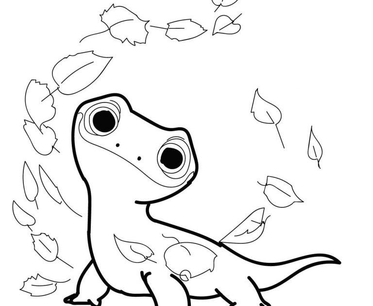 Frozen 2 Earth Giant Coloring Pages - Lautigamu