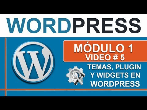 Que son los Temas, Plugins y Widgets en Wordpress