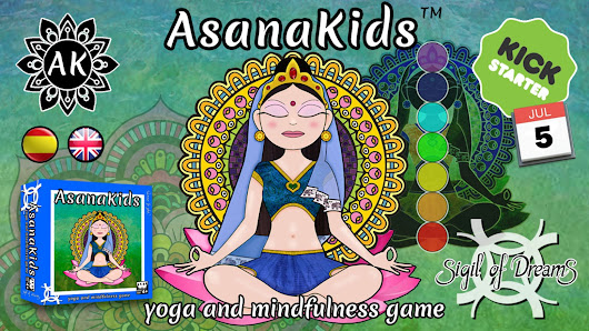 Asanakids: learn yoga and mindfulness while playing