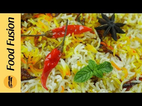 Best Recipe for Kachay Gosht ki chicken Biryani - Food Fusion