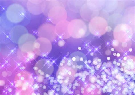 Pink and Purple Bokeh Newborn Showers Photographic