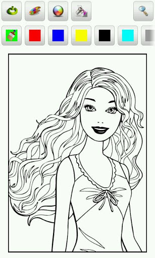 Barbie Coloring Pages » Android Games 365 - Free Android ...