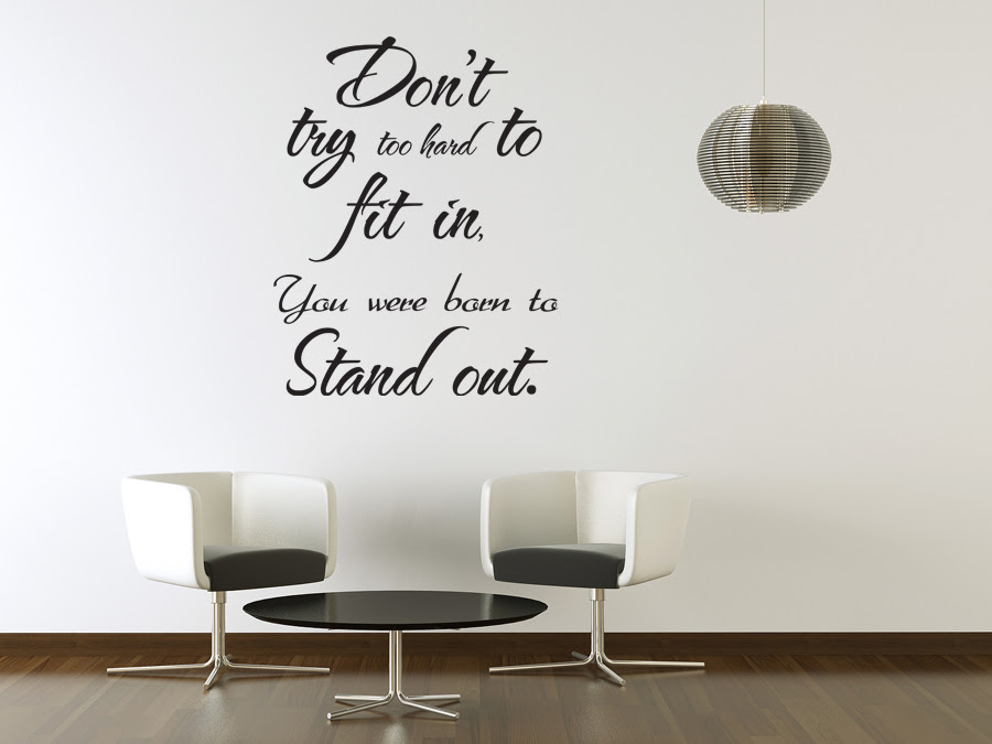 Vinyl Wall Sticker Art Saying Decor Decal Quote