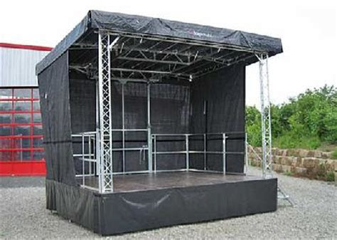 mobile stage network  rental sales