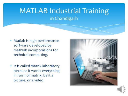 MATLAB Industrial Training in Chandigarh Sector 17