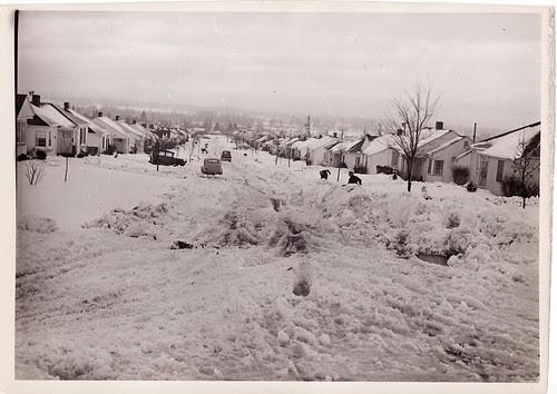 Snow in Portland, 1954