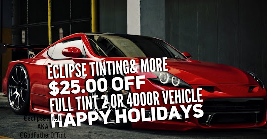 "Eric on Twitter: ""Specials Holiday season.. $25.00 OFF any 2 or 4 door car. Minor restrictions may apply. #StLouis #windowtinting #excellence """