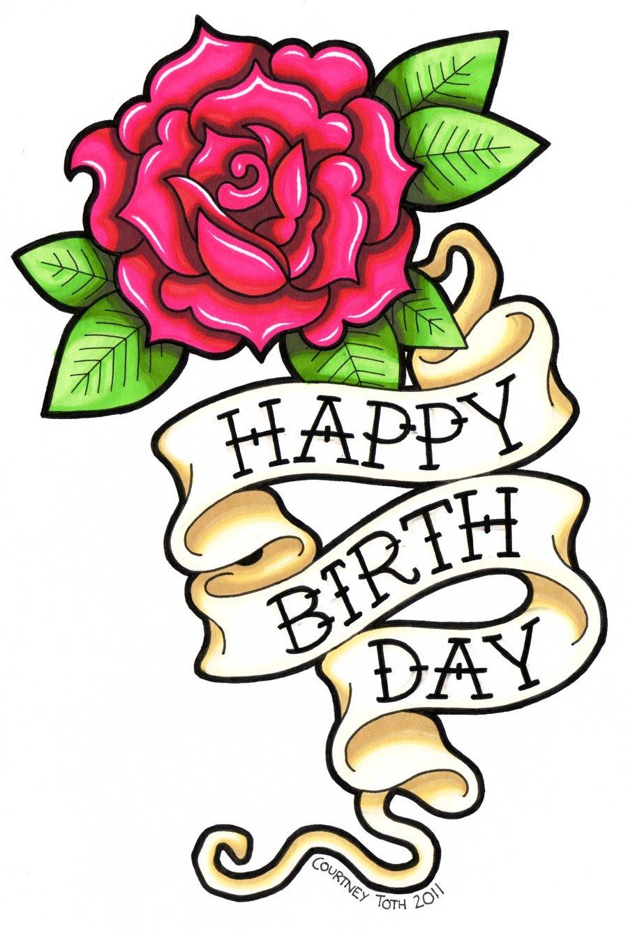 Cute So Happy Birthday Draw