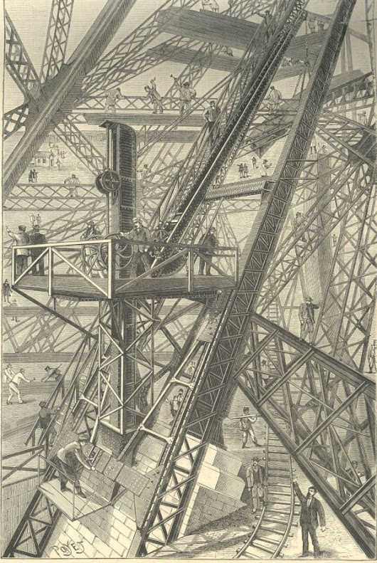 The Eiffel Tower and the 10-Ton Bullet