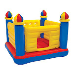 Intex Jump O Lene Castle Inflatable Bouncer For Ages 3-6