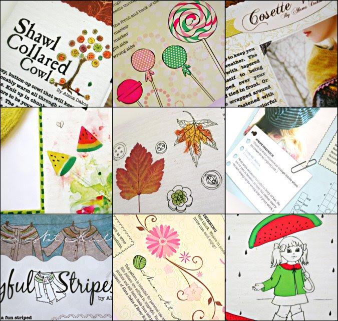 Pattern Illustration collage