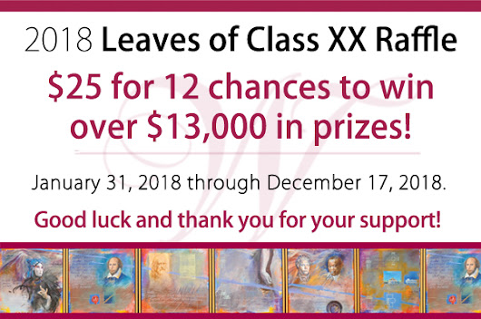 Leaves of Class XX – July Winners!