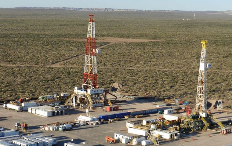 The unconventional gas is being piped from Argentina's oil- and gas-rich Vaca Muerta shale field, over the Andes mountain range to Chile's southern provinces