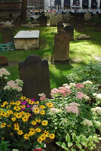 Flowers, Trinity Church Cemetery