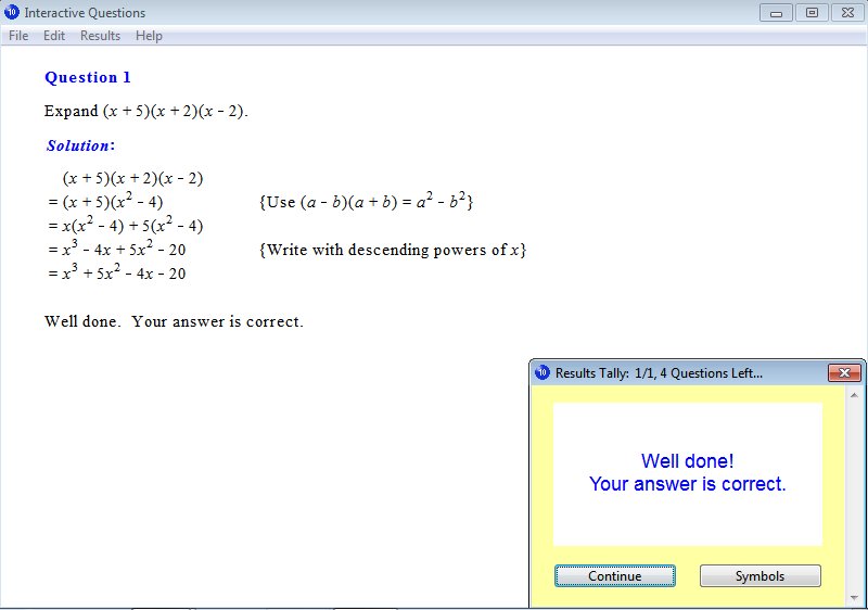 Year 10 Interactive Maths Software, Mathematics Software ...