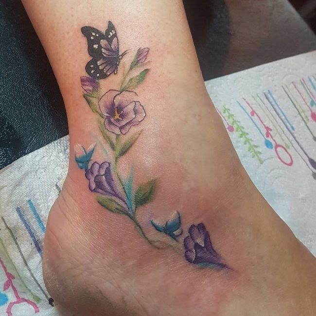 80 Outstanding Foot Tattoo Designs