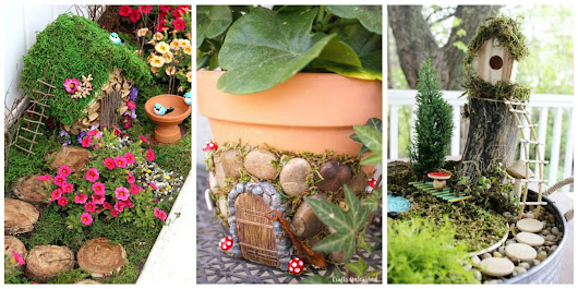 9 Enchanting DIY Fairy Garden Ideas for Your Backyard