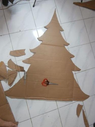 Pohon natal homemade - Pakeotac