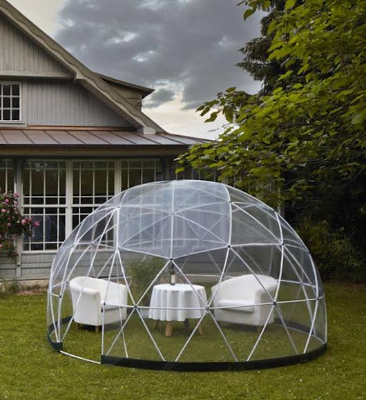 Mobiler Wintergarten produktneuheit ein iglo für den garten mobiler wintergarten