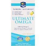 Nordic Naturals Ultimate Omega Lemon Flavored 60 Softgel