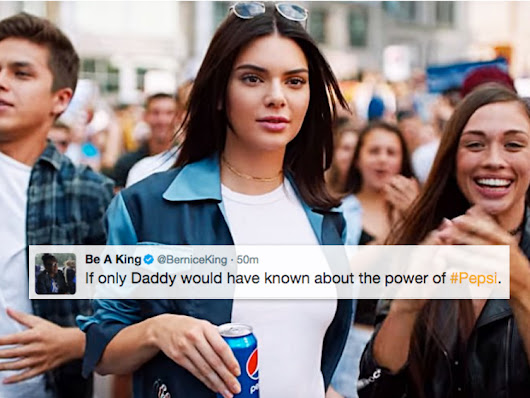 Even Martin Luther King Jr.'s Daughter Couldn't Believe Kendall Jenner's Cringey Pepsi Ad
