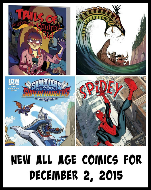 New all age comics for December 2, 2015