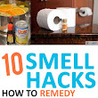 10 Smell Hacks-how to remedy those stinky smells