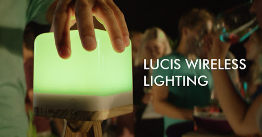 CLICK HERE to support Lucis Lighting: A Portable, Colorful LED Lamp