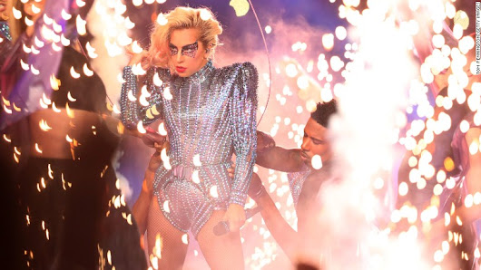 Lady Gaga Sends A Message On Super Bowl Halftime Performance