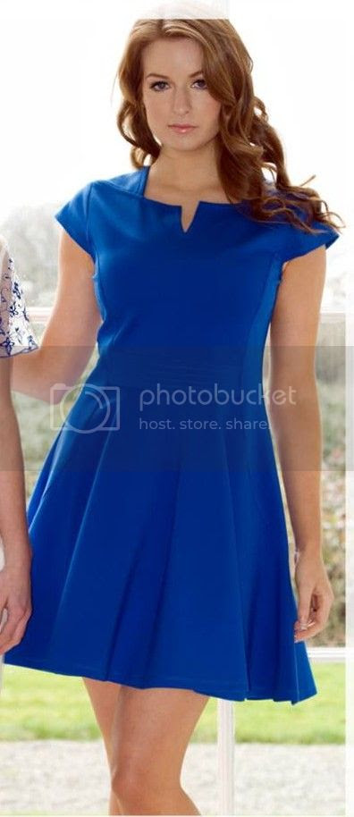 Lila Calypso royal blue skater dress photo 10007508_646903695371590_230326299_n.jpg