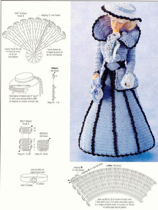 Creations-Fashion doll costumes 004 (525x700, 286Kb)