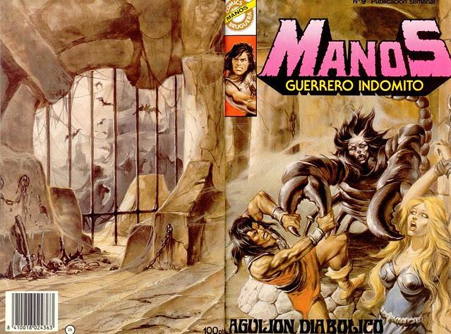 Manos Guerrero Indomito, Cover #9