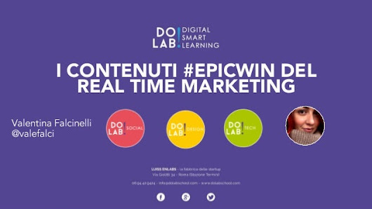I contenuti #epicwin del Real Time Marketing
