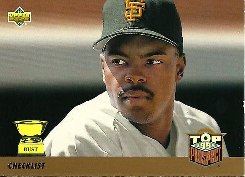 baseball card bust  checklist  1993 upper deck