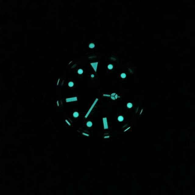 Replica Rolex Submariner 116613LN Dial Lume