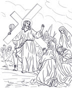 Octava Estación: Jesús Consuela a las Mujeres from Viernes Santo