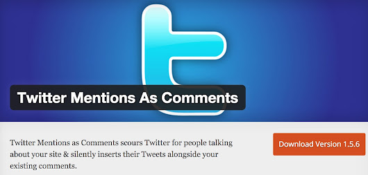 Adaptando Twitter Mention As Comments #Wordpress #Plugin - K-Government