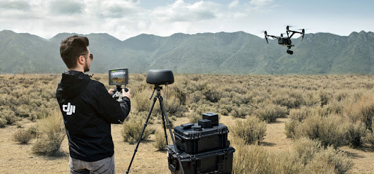 DJI's New High Performance Accessories - Tracktenna, Cendence, and CrystalSky