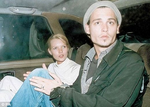 LE FASHION BLOG JOHNNY DEPP KATE MOSS JOHNNY AND KATE INSPIRATION CAB WHITE 90S MINIMAL LOOK TURTLE NECK 10
