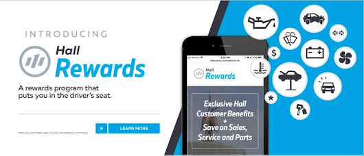 "Hall Honda Virginia Beach | The Hall Rewards Program is Our Way of Saying ""Thank You"""
