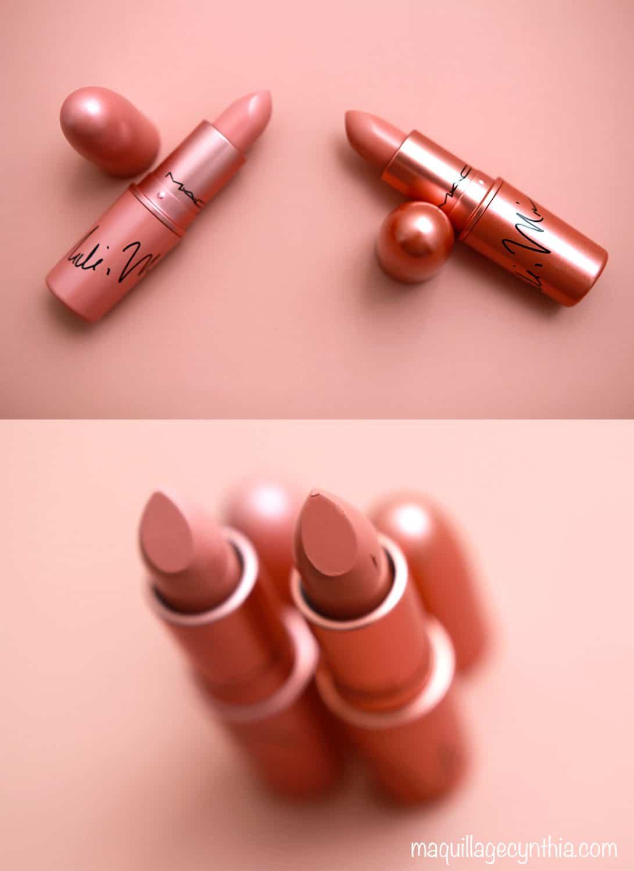 Rouges à Lèvres Nudes Nicki Minaj X Mac Maquillage Cynthia