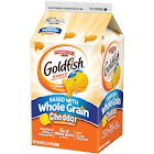 Pepperidge Farm Goldfish Baked with Whole Grain Cheddar Crackers, 30 oz. Carton