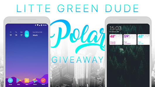 Giveaway: Polar Widgets For KWGT