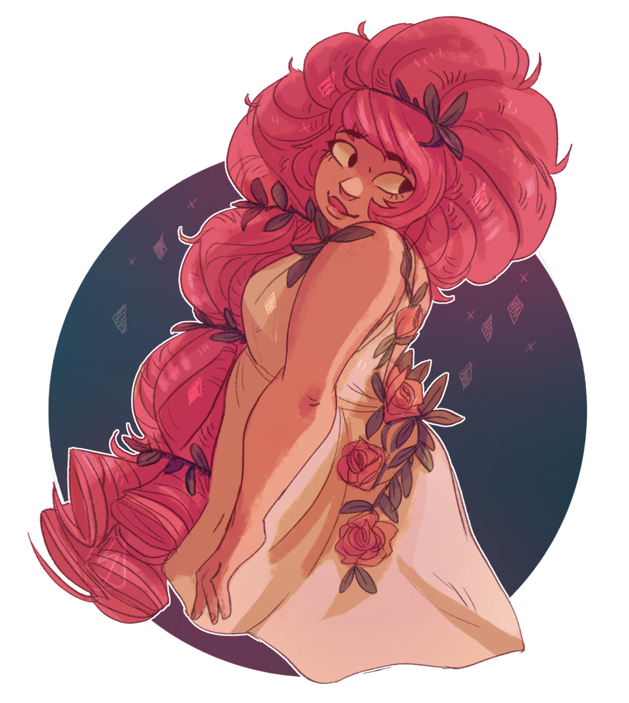 Warm up Rose in this dress