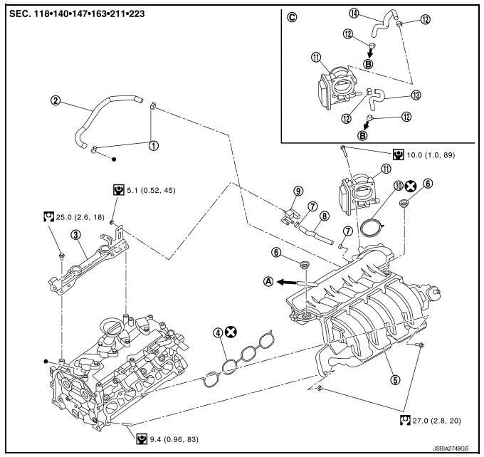 2009 Nissan Sentra Carburetor