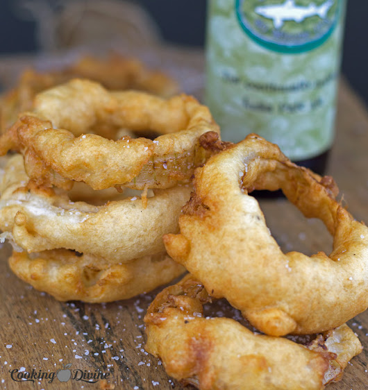 IPA Beer Battered Onion Rings