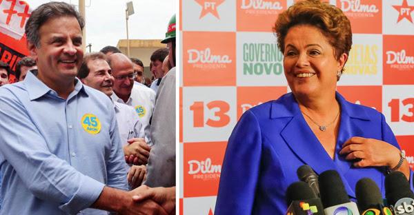 Aecio Neves_Dilma